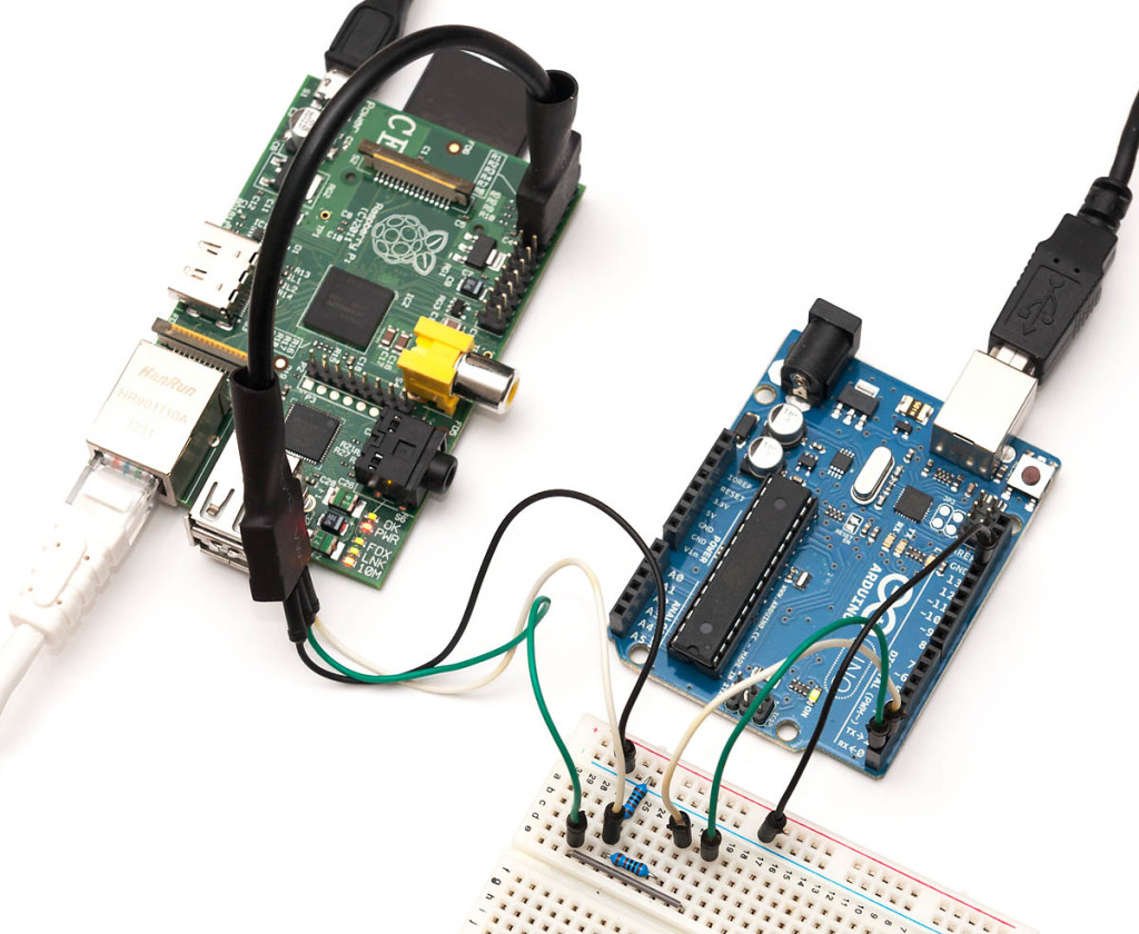 Raspberry Pi And Arduino Connected Using I2c Oscar Liang B Circuit Diagram