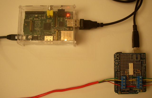 Connect Raspberry Pi and Arduino with Serial USB Cable