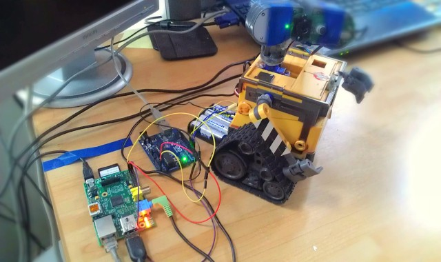 Raspberry Pi Color Tracking Using PID - wall e