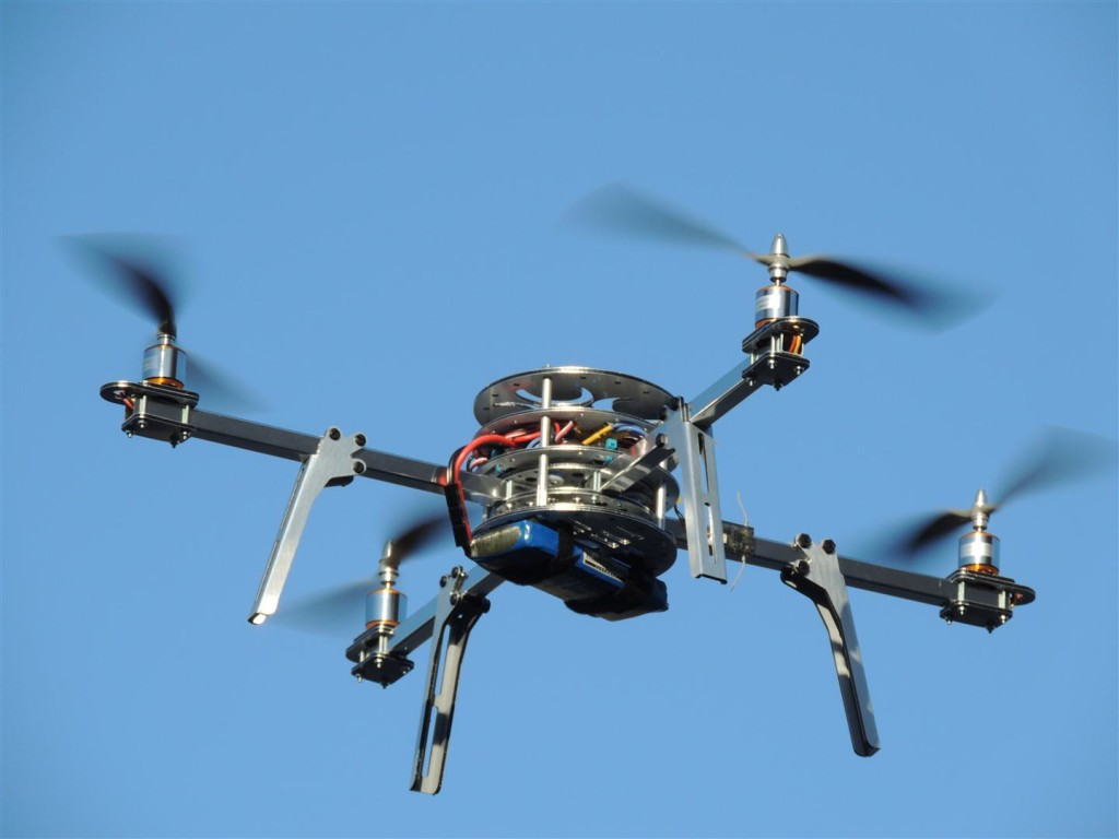 Quadcopter-flying