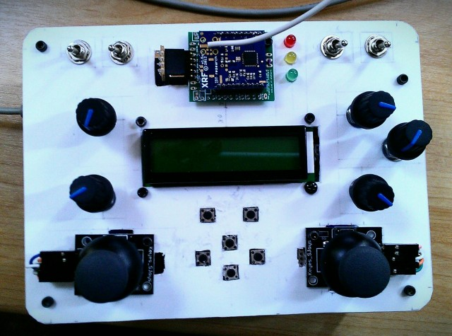 DIY Wireless RC Remote Controller for Robots, Quadcopter - Oscar Liang