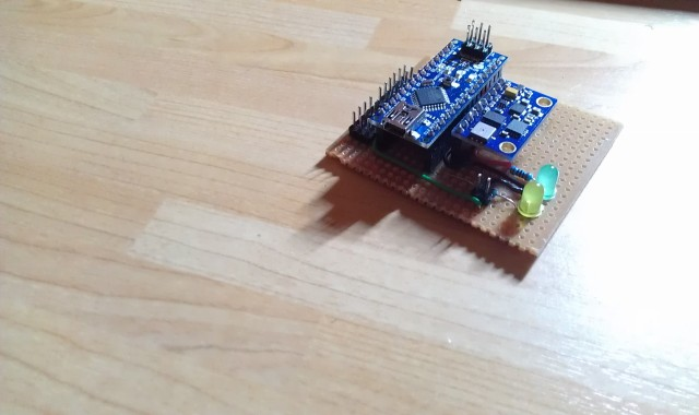 Build an arduino shield for quadcopter adapter