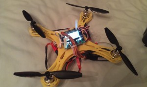 Micro Mini Quadcopter with KK2.0