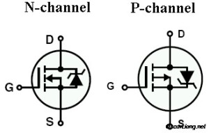 electronics_mosfet_schematic