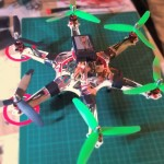Micro Hexacopter - 1811 - turnigy - build