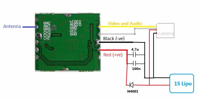 RC-FPV-transmitter-camera-circuit-TX5823-MC495A