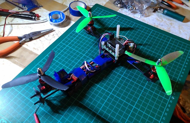 build a diy mini tricopter - oscar liang on quadcopter wiring-diagram,