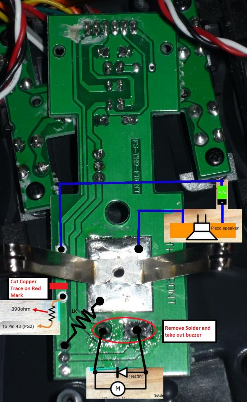 Turnigy 9x Transmitter Modifications Oscar Liang Small In Firmware And Schematic Diagram Were Made By Speaker Mod 2