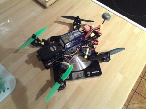 fpv250 mini quad weight