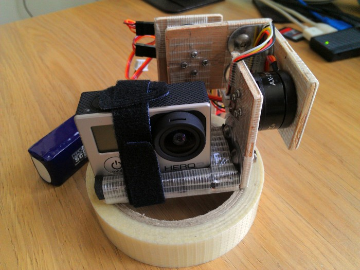 how to make a mobile handheld kinect camera