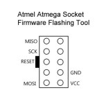 atmega flash tool pinout