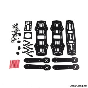 carbon_fibre_250_mini_quad_frame_contain_parts