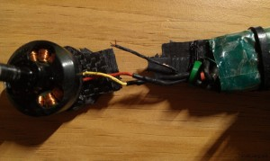 torn-snapped-motor-wire-broken-arm