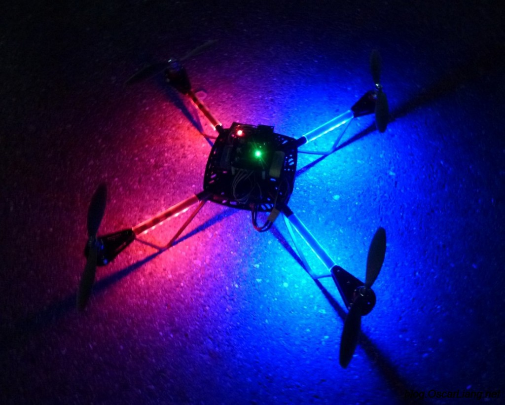 Build A Diy Led Strip For Quadcopter Multicopter Oscar Liang Picture Of Choosing The Resistor To Use With Leds