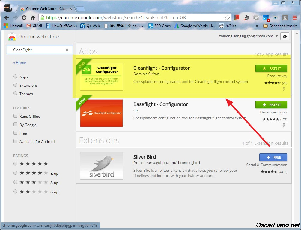 Getting-Cleanflight-configurator-gui-google-chrome