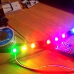 testing led with arduino cleanflight rgb WS2811