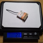 FrSky VD5M 2.4Ghz 5CH Micro Receiver weight