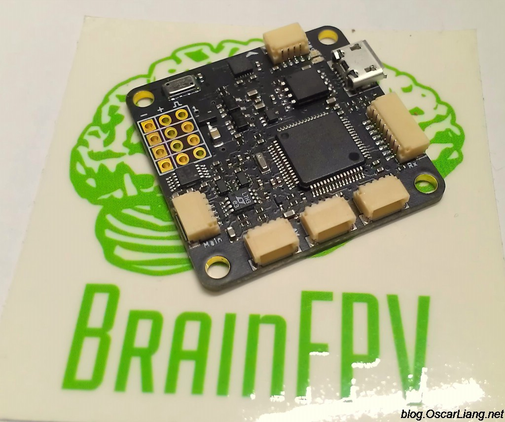 brainfpv flight controller sticker front 1024x855 brainfpv flight controller review oscar liang  at aneh.co