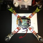 mounting esc arm quadcopter