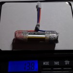 weight-solder-connector-Turnigy nano-tech 650mAh 1S 15c Round Cell