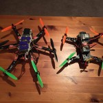 Duke Mini Hex 330mm Hexacopter comparison to mini quad 250