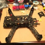 Emax-nighthawk-250-mini-quad-mount the control RX