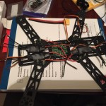 Emax-nighthawk-250-mini-quad-work out where the PDB and ESCs will go