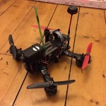 zmr250-Quad with Mobius and FPV equipment