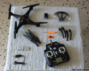 SYMA-X5SC-quadcopter-drone-what-s in the box content package