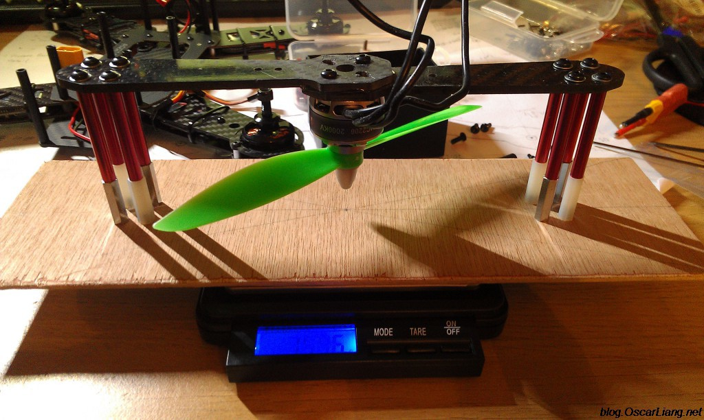 Diy Simple Motor Thrust Measuring Stand Station