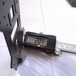 ZMR250-v2-mini-quad-frame-bottom-plate-thinkness-measure