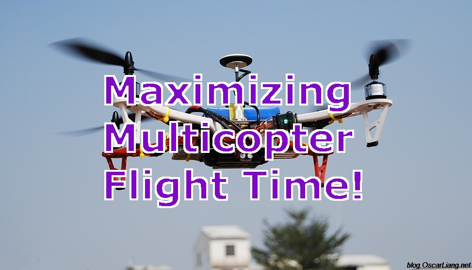 Longest Flight Time Drone >> Get Longer Flight Time On Drones And Quadcopters Oscar Liang