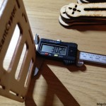 PeasantCopter Mini Quad Frame Plywood - plate thickness