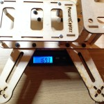 PeasantCopter Mini Quad Frame Plywood - weight