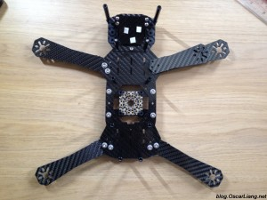Speed Addict FPV Racing Frame Fearless mini quad 320 configuration larger quad