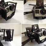 Speed Addict FPV Racing Frame Fearless mini quad camera protection cage gopro