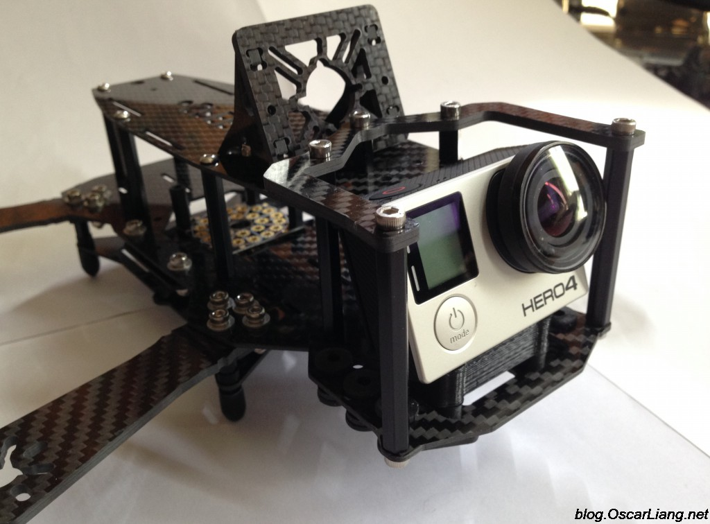 Speed Addict Fpv Racing Frame Fearless Mini Quad Camera Protection Cage Gopro Crash on Racing Quadcopter