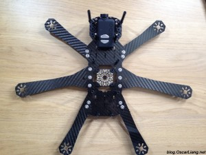Speed Addict FPV Racing Frame Fearless mini quad hex hexacopter configuration