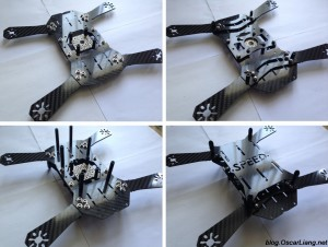 assembly Speed Addict FPV Racing Frame Fearless mini quad