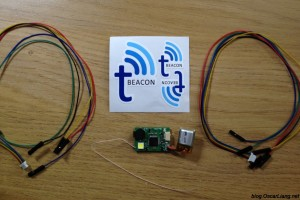 tBeacon UHF beacon with GPS - package content