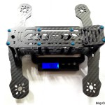 demon-ghost-220-mini-quad-frame-weight