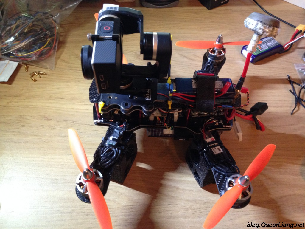 Mount Camera Gimbal On Mini Quadcopter Feiyu Mini3d 3 Axis Review Wiring Diagram Gopro Mounting