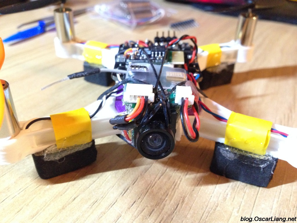 Fpv Micro Quadcopter Build V2 Beef Brushed Board 85mm Motor