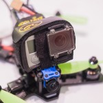 The Midge 180 Mini Quad Frame build gopro camera