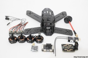 The Midge 180 Mini Quad Frame build parts components esc motor fc pdb