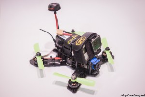 The Midge 180 Mini Quad Frame build side 2