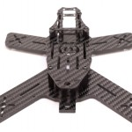 The Midge 180 Mini Quad Frame rear tail