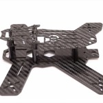 The Midge 180 Mini Quad Frame side