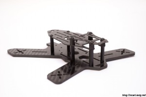 The Midge 180 Mini Quad Frame side2