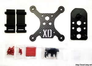 XpertDrone XD Stealth 150 Mini Quad Frame 4inch Package